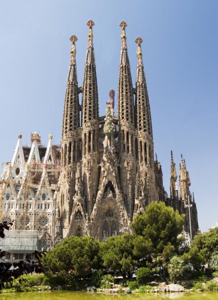 Cómo se verá la Sagrada Familia de Antoni Gaudí