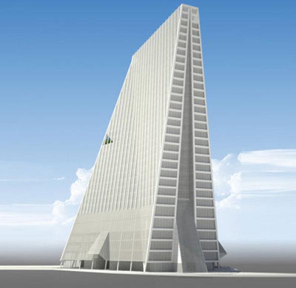 Alistan ícono de oficinas en sur del DF. Torre Manacar de Teodoro González de León
