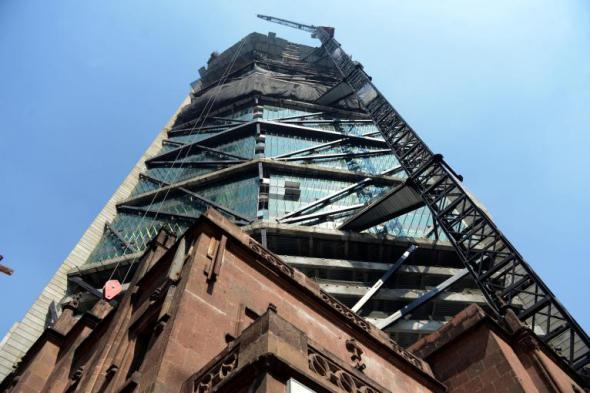 Cemex colabora en la Torre Reforma