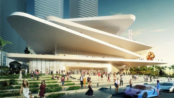 Minimalismo futurista de Fernando Romero en Miami