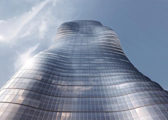 Torre Premier proyecto inspirado en la anatomía de Beyonce