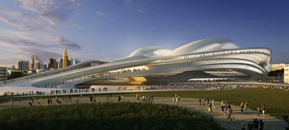 Ministro nipón pide investigar la elección del diseño del estadio olímpico de Zaha Hadid