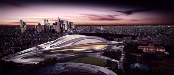 Zaha Hadid tiene el 19 por ciento de aprobación en Japón