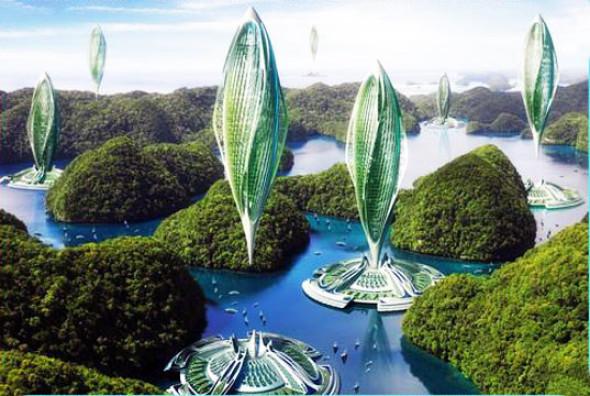 Podrían ser los edificios flotantes el futuro de la sostenibilidad
