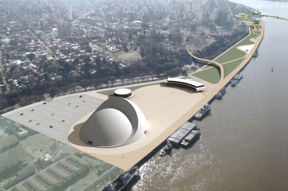 Intentan revivir obra de Oscar Niemeyer