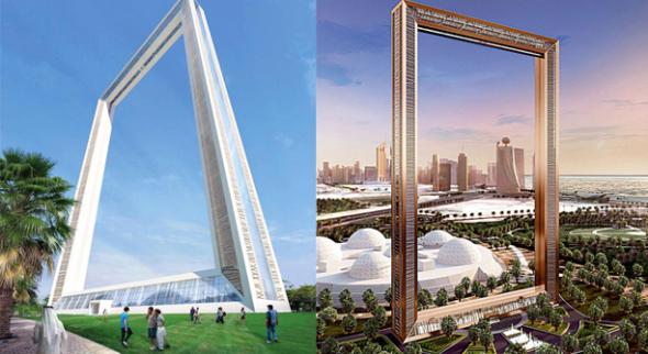 Arquitecto mexicano construye marco en Dubai de 43.5 millones de dólares