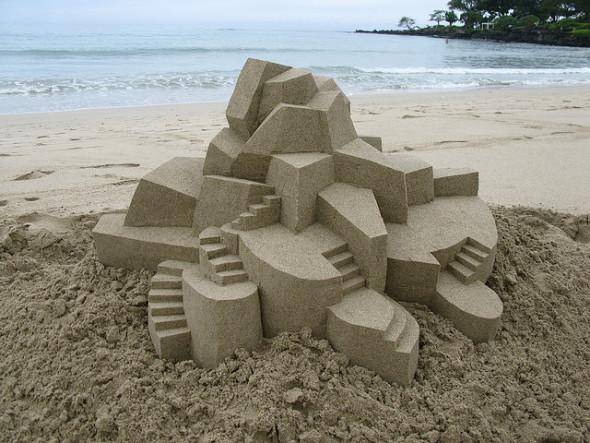 Renzo Piano nos dice cómo se construye el castillo de arena perfecto