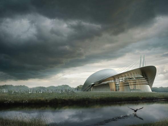 La creación de la Capilla de Dublín. Tutorial para el render perfecto.