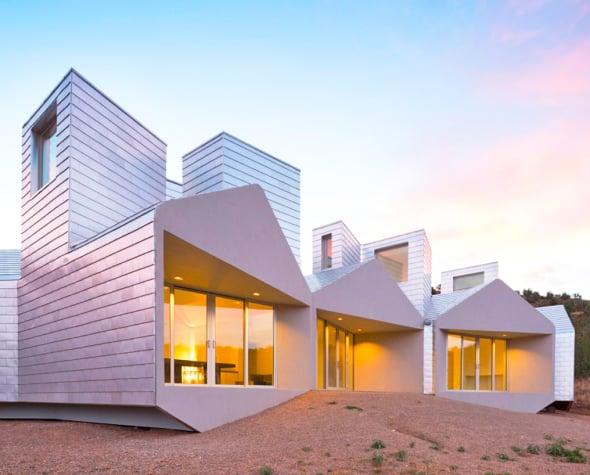 Arquitectura modular sustentable que se puede ampliar en for Arquitectura modular