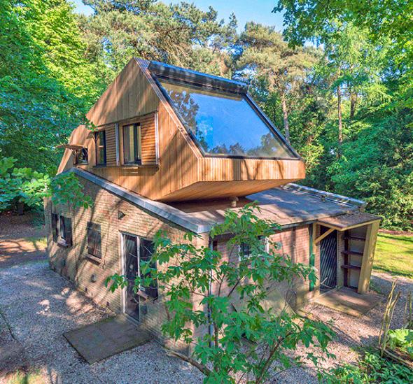 Extensión de una casa de árbol