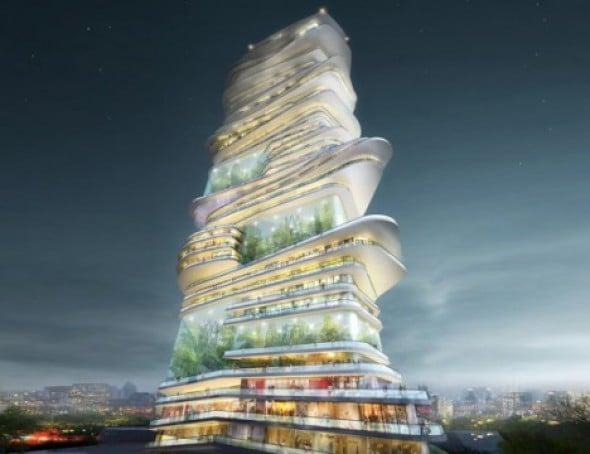 Ciudades Verticales.12 Torres que Acaparan la Densidad Urbana a los cielos