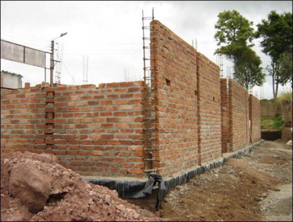 Tipos de muros de mampostería