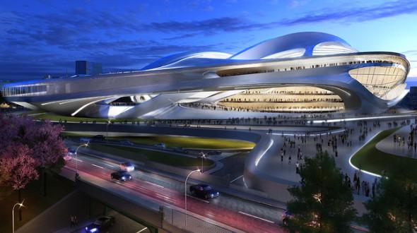 Zaha Hadid puede solicitar una indemnización por el proyecto cancelado