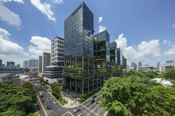 Torre Verde ganadora del Premio Hábitat Urbano