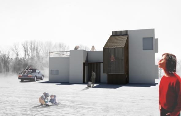 B home. Casas y oficinas modulares realizadas en acero