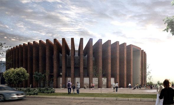 Nueva Plaza de Toros de Diseñada por Sordo Madaleno Arquitectos