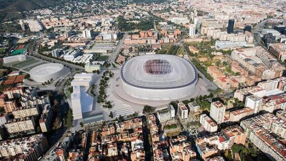 Termina la primera fase del concurso para definir el nuevo estadio del Barcelona