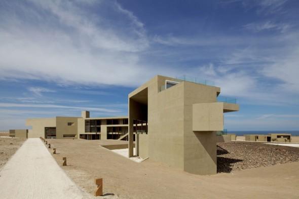 Hotel en el desierto más desolado del mundo