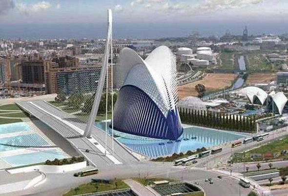 Calatrava envía una lista de obras mínimas para terminar el Ágora