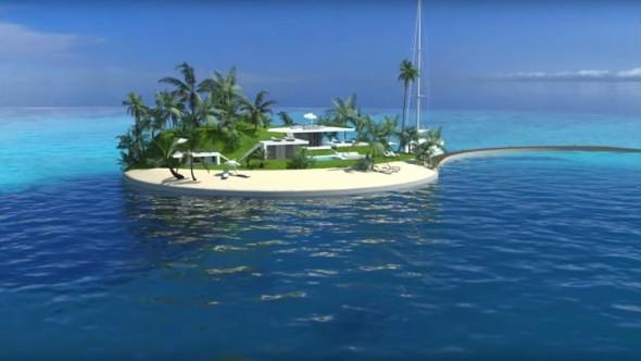 Se planean construir las primeras islas artificiales ecológicas portables