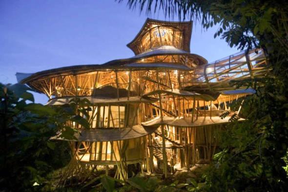 Taller de Bio Construcción Estructuras Ligeras de Bambú Guadua