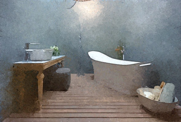 Diez baños con estilo