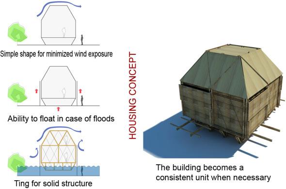 Autoconstrucción con Bambú, de bajo costo y gran atractivo