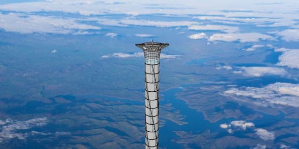 Ascensor espacial que llevará astronautas a la estratosfera