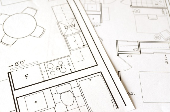 Planos arquitectónicos. Líneas, acotamientos y representación de muros