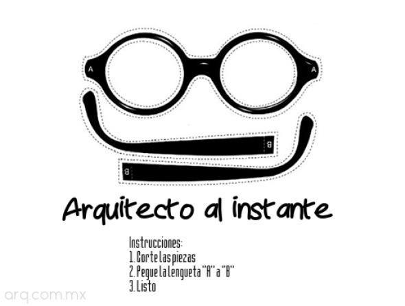 Humor en la arquitectura. Le Corbusier al instante