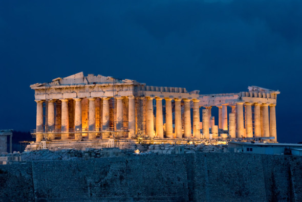 Ganador del premio Pritzker prefiere el Partenón en la Acrópolis