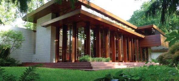 Pieza por pieza desmontaron una casa de Frank Lloyd Wright y la convierten en museo