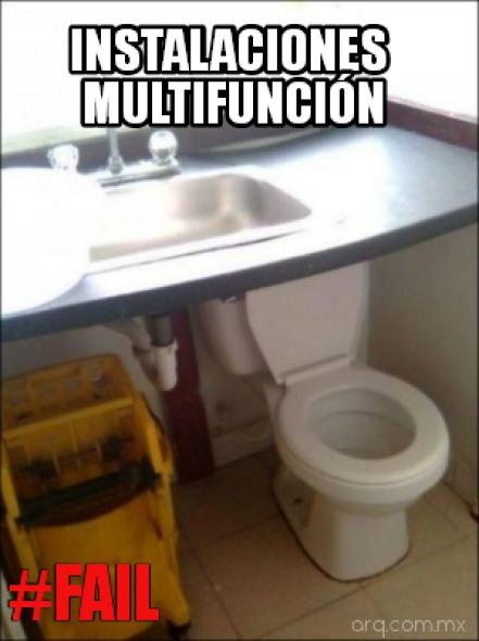Humor en la arquitectura. Instalaciones multifunción