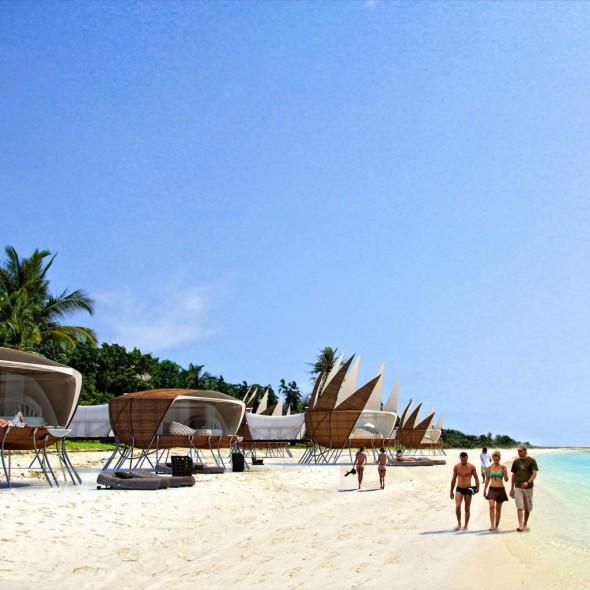 Un hotel sostenible anti-huracanes