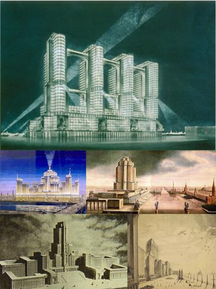 Grandes edificios que nunca se construyeron