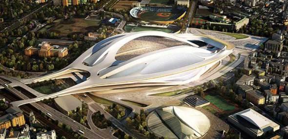 Zaha Hadid busca recuperar obra de estadio de Tokio con propuesta más económica