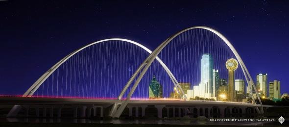 Santiago Calatrava crea puentes en Texas