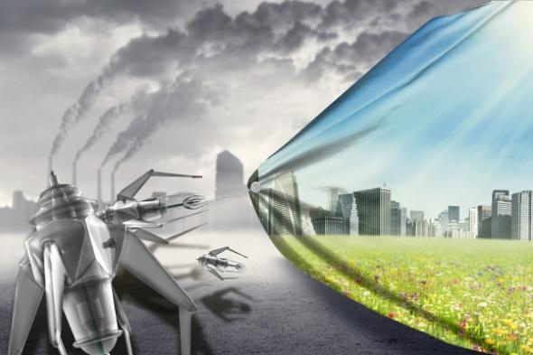 Nanobots en concreto reducen efectos de gas invernadero y calentamiento global