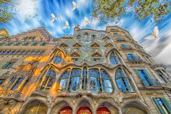 Casa Batlló  de Gaudí y su historia en movimiento