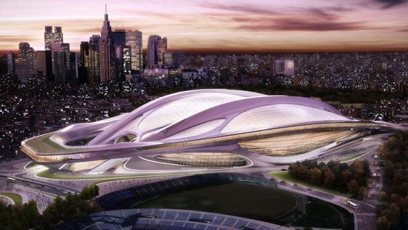 Desiste Zaha Hadid de Estadio Olímpico de Tokio 2020