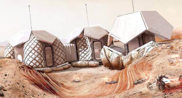 Norman Foster propone detallado proyecto en Marte
