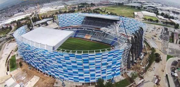 Estadio en remodelación de Pedro Ramírez Vázquez muestra avances