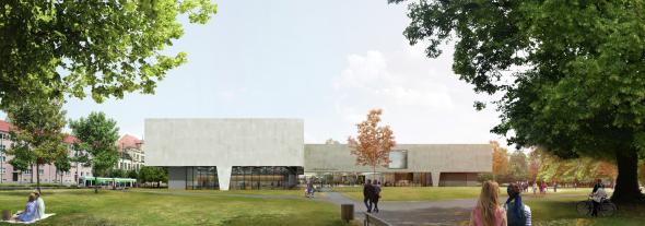 Proyecto Finalista del Concurso Bauhaus Museum Dessau, Alemania