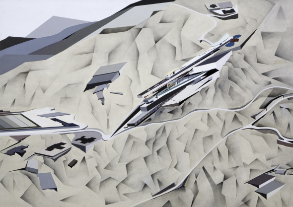 Las pinturas abstractas de Zaha Hadid