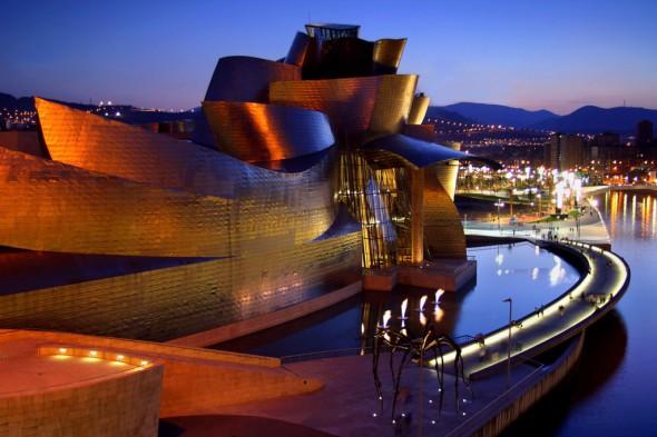 El titanio más allá de Frank Gehry