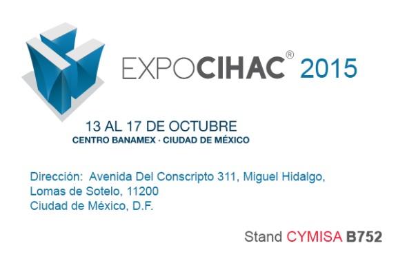 Hoy comienza Expo CIHAC 2015