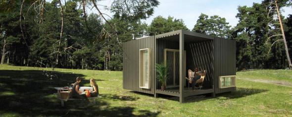 Vivienda prefabricada personalizable de mínimo impacto a su entorno