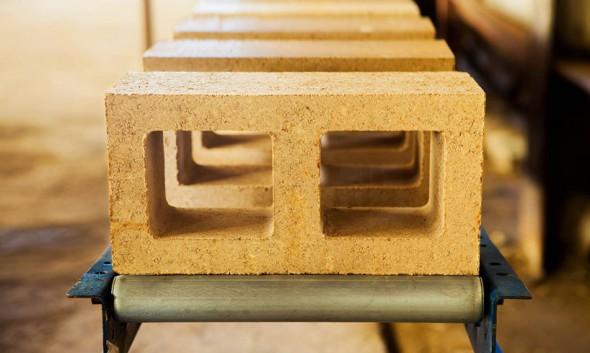 Bloques de arcilla que son dos veces más fuertes que el concreto