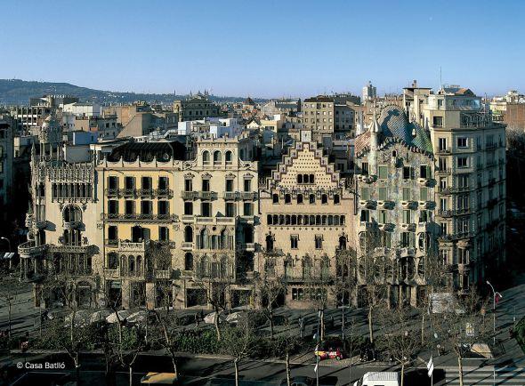 La manzana de la discordia de Montaner, Cadafalch y Gaudí