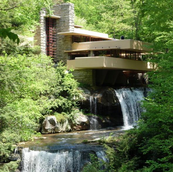 La casa de la cascada de Frank Lloyd Wright celebra su 80 aniversario